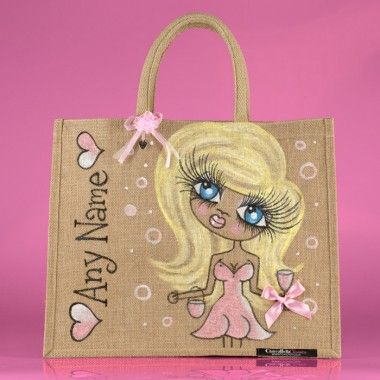 ClaireaBella Large Jute Bag
