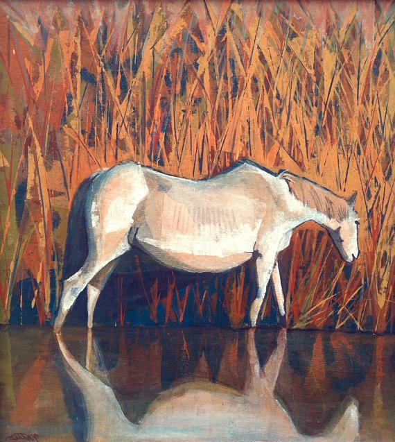 Horse Print Printable Artwork Horse Art Large Printable