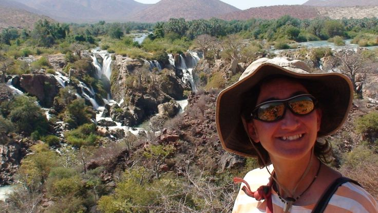 We arrived to the #EpupaFalls, sit on the #KuneneRiver on the border of Angola and Namibia in an area commonly known as #Kaokoland. The name #Epupa is a Herero word for the plumes of spray created by falling water. Full story http://bit.ly/2e7TmmJ