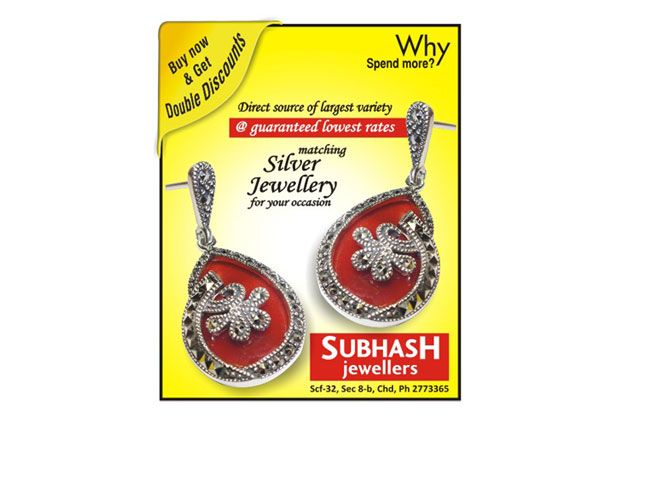 Subhash Jewellers stands proud as No.1 silver superstore in the region.We have a whole world of finest matching silver jewellery.
