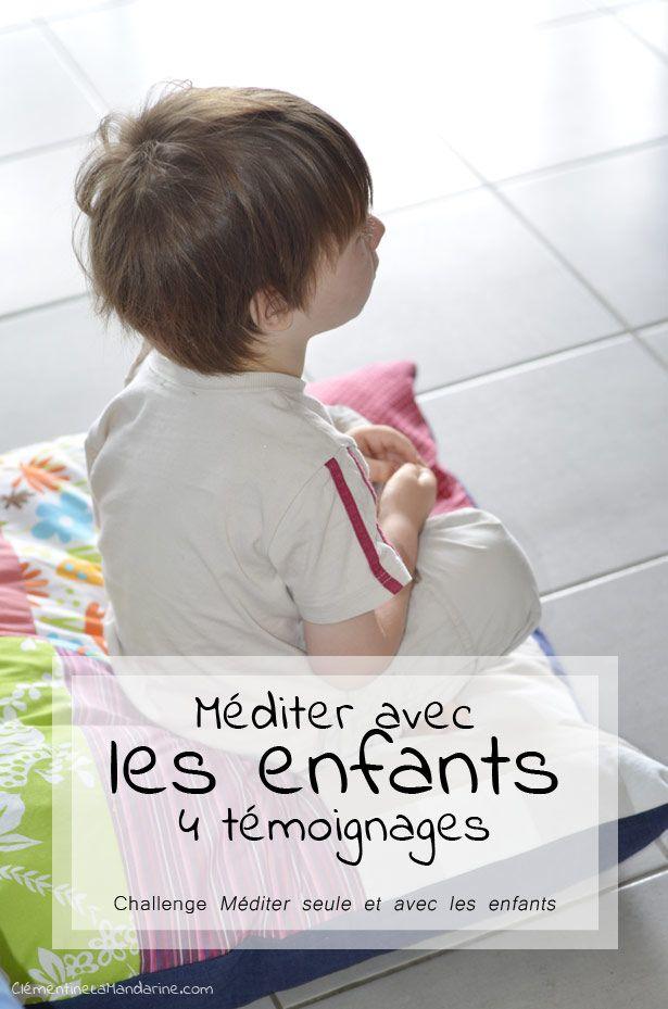 Mediter Avec Les Enfants Clementine La Mandarine Education Bienveillante Enfant Parentalite Positive