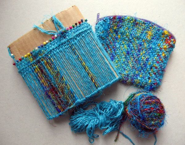 Ruth's weaving projects: Turquoise series