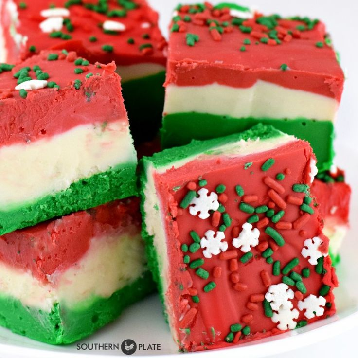 This festive fudge is third up in my Fuss Free Fudge series! Check out the first two, Fuss Free Peppermint Fudge and Fuss Free Oreo Fudge, then get hopping