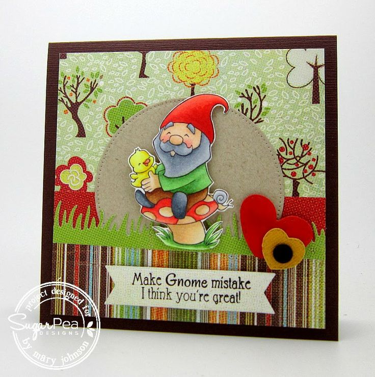 SugarPea Designs - Gnome Sweet Gnome by Mary Johnson
