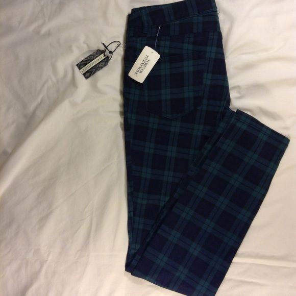 50% off applied Forever 21 woman's plaid jeans Pretty cool plaid jeans Forever 21 Pants Skinny