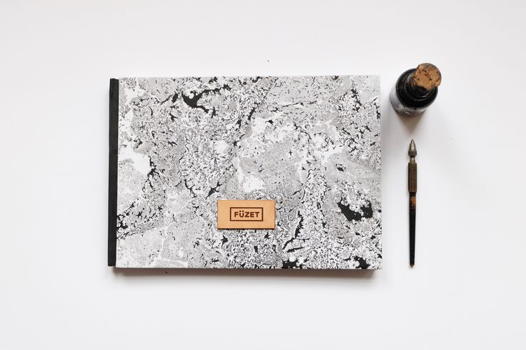 FÜZET // MARBLED NOTEBOOK