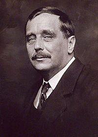 """Herbert George Wells nació el 21 de Septiembre de 1866 en Kent. Es conocido por sus obras de ciencia ficción como """"La máquina del tiempo,"""" Él murió el 13 de Agosto de 1946 en Inglaterra."""