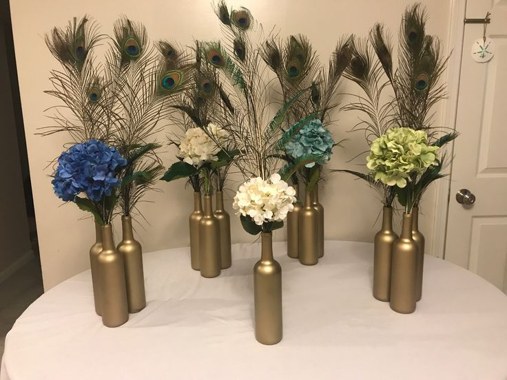 Best 20 Peacock Wedding Centerpieces Ideas On Pinterest