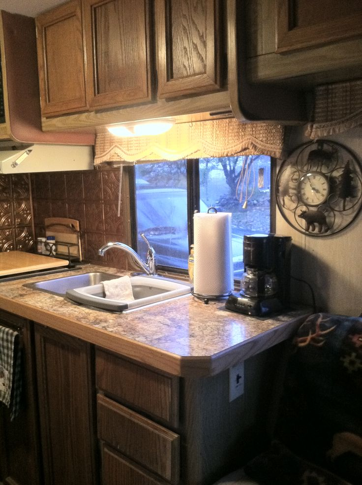 Redoing Our Old Rv A New Countertop Rving Remodeled