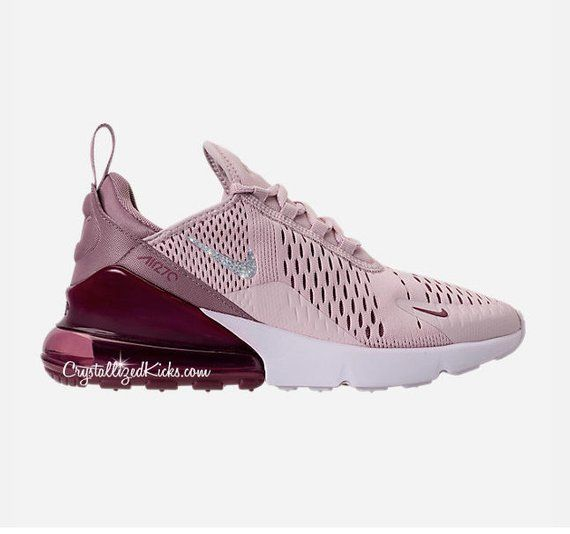 Air Made Grade in Swarovski Girls Nike School 270 Max with UpMVSGqz