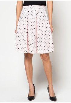 Wanita > Pakaian > Bawahan > Rok > Polka Dot Full Circle Skirt > sophistix