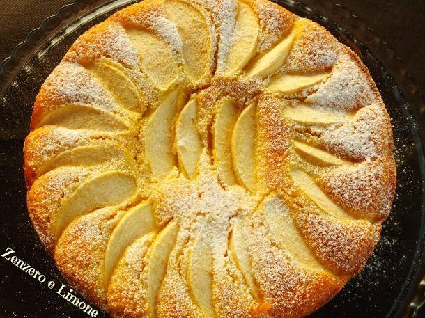 torta di mele - intera