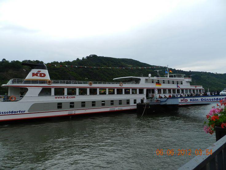 trip down the Rhine Germany