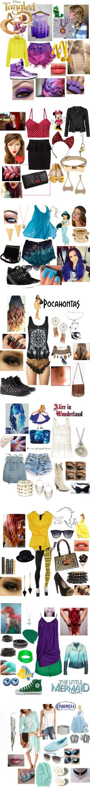 """Punk Rock Disney"" by casey-carpenter on Polyvore"