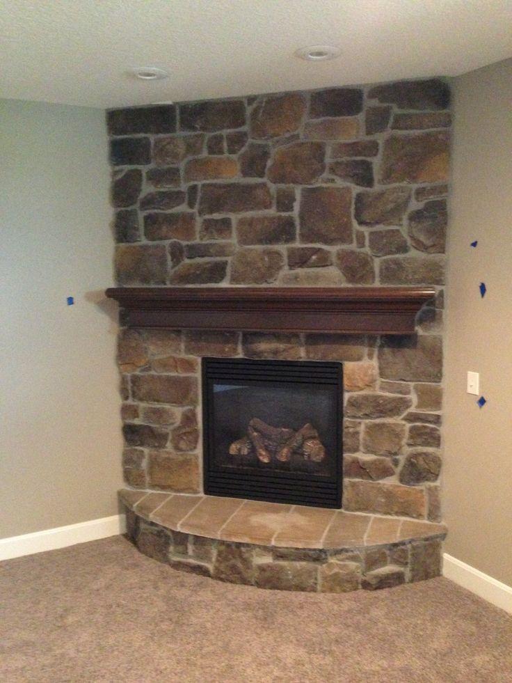 Corner Fireplace With Hearth Copperton Quartz Fireplace J