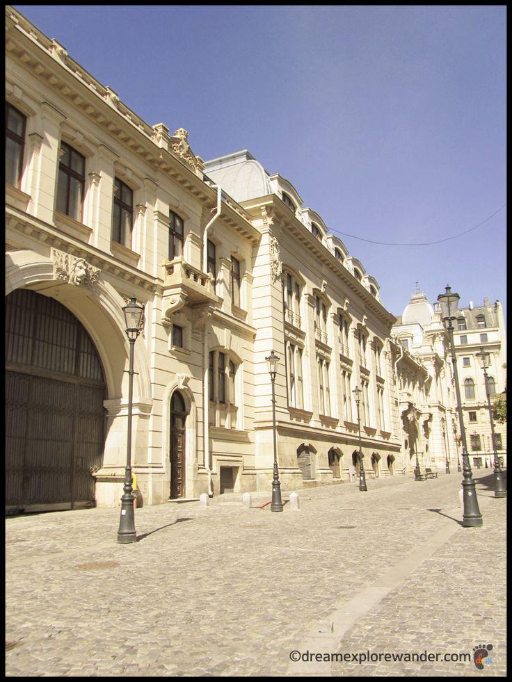 Street in Bucharest's Old City
