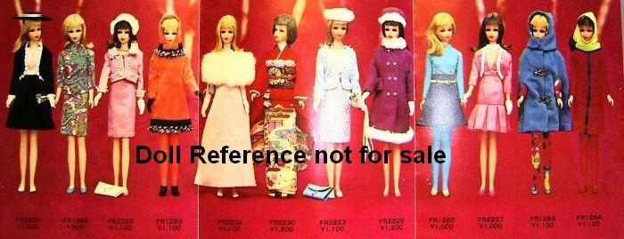 Francie Fashions, Japan booklet