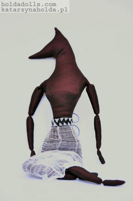 Demeter ooak handmade collectable unique art doll by HoldaDolls