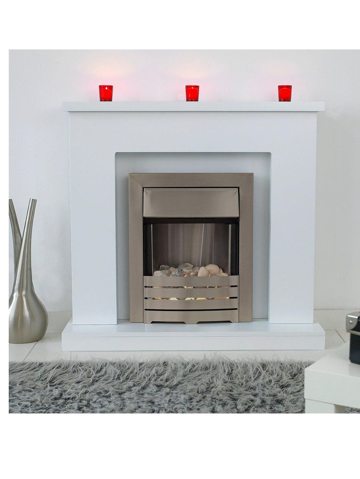 Adam Fire Surrounds Adam Fire Surrounds Lomond Electric Fire SuiteThe clean and contemporary design of the Adam Fire Surrounds Lomond electric fire suite will impress in any home.The helios brushed steel electric fire suite with satin hearth and pebble fuel bed combines with the latest flame technology comprising LEDs for exceptionally long life and low energy consumption.The temperature is adjustable or you can opt for the flame effect only to add ambience to your room.This great value…