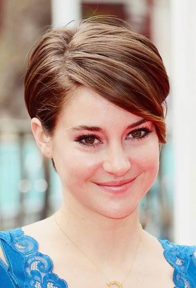 I love this hair style! Shailene Woodley