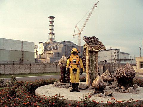 Chernobyl,beside reactor 4