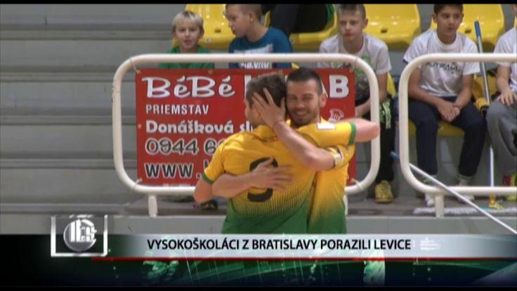 Vysokoškoláci z Bratislavy porazili Levice