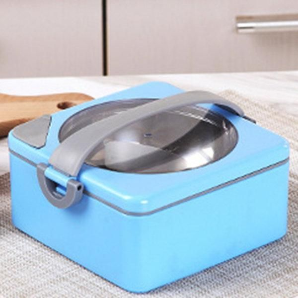 Creative Stainless Steel Water Heat Preservation Lunch Box Heat Preservation Pot Heating Lunch Box