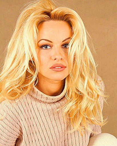 Pamela Anderson | 90s child | Pinterest | Makeup