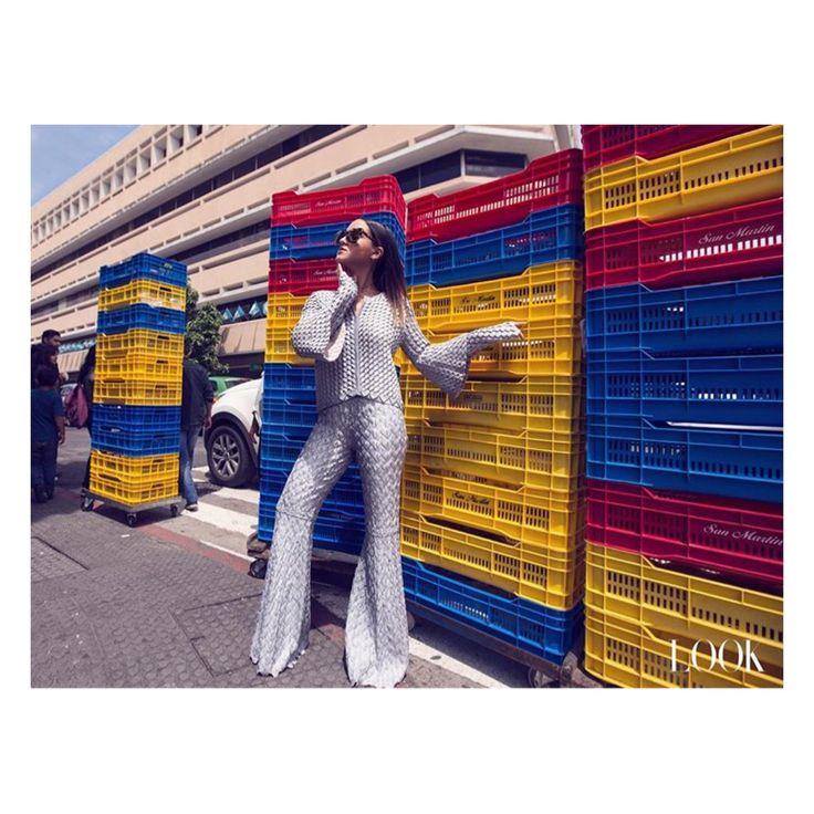 @nataliafromguatemala wearing #pepapombo total look for @lookmagazinegt #PepaPomboGuatemala
