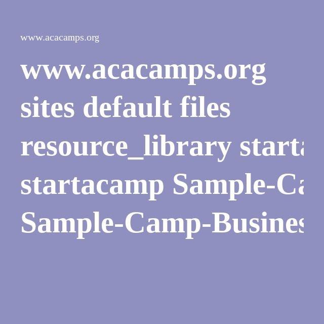 www.acacamps.org sites default files resource_library startacamp Sample-Camp-Business-Plan-Outline.pdf
