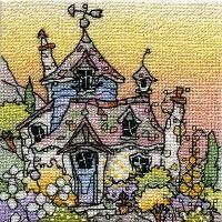Honeysuckle Cottage - Michael Powell cross stitch designs...