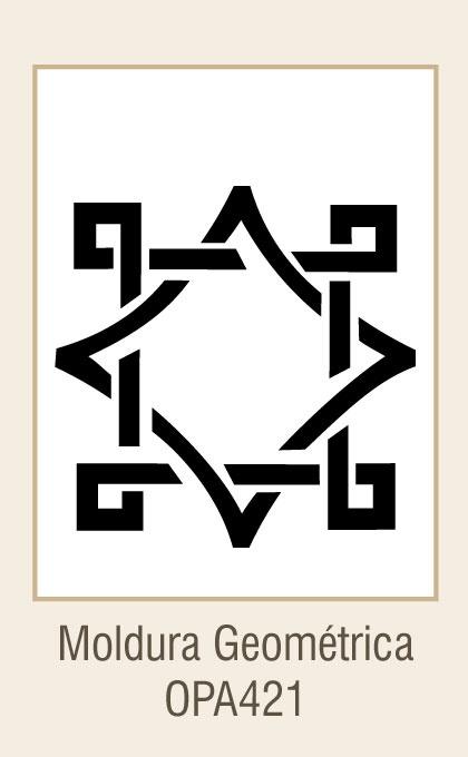 Moldura Geométrica(15x20)