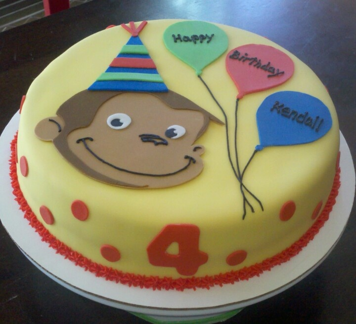 Birthday Cake Curious George