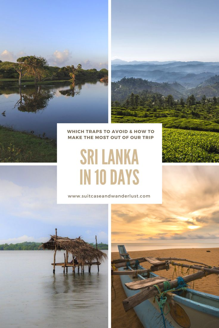 How to make the most out of Sri Lanka in 10 days and which traps you should avoid