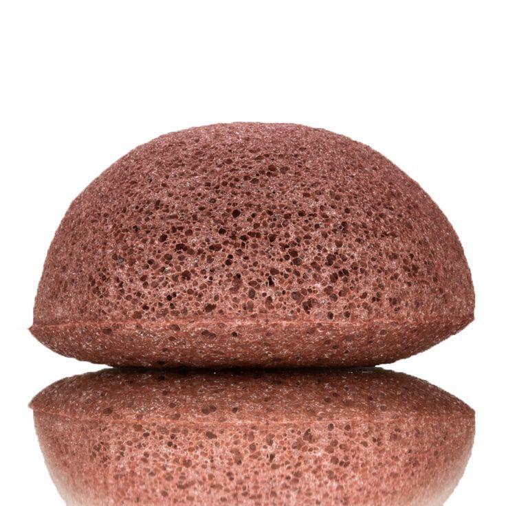 KONGY Konjac Facial Sponge French Red Clay  Facial Cleaning - Dry enSensitiveSkin.De KONGYKonjac Facial Spongeis gemaakt van het natuurlijke materiaal Konjac (In Japan bekend as Konnyuka). Konjac is een natuurlijke plant en wordt op grote schaal gebruikt als een medisch en eetbaar product. Konjac is een populaire en gezonde groente in Korea en Japan. Konjac sponzen zijn heel erg zacht. Ze zijn zachter dan gezichtsscrubs en zijn hierdoor ideaal voor het dagelijksverwijderen van dode…