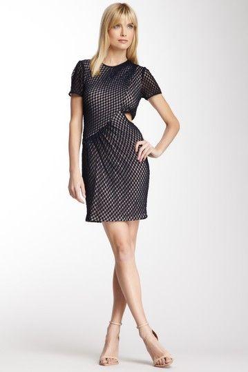 Charlotte Ronson Draped Cutout Dress on HauteLook
