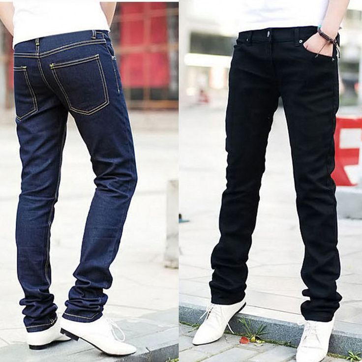 WJ Мужчины Skinny jeans мужчины Проблемные тонкий эластичные джинсы denim Байкер джинсы хип хоп брюки купить на…