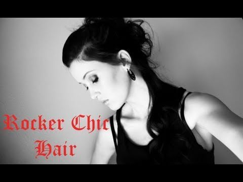 I love this hairstyle! (Works better for med - long hair) Rocker Chic Hair Tutorial