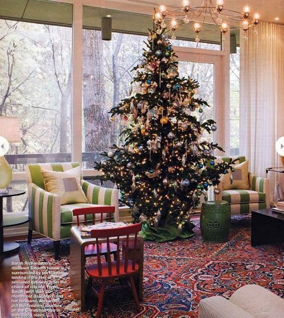 Sarah Richardson's Christmas tree in the City
