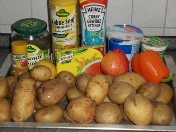 Das perfekte fettarmer Kartoffelsalat - Weight Watcher geeignet-Rezept mit einfacher Schritt-für-Schritt-Anleitung: Pellkartoffeln kochen, pellen und…