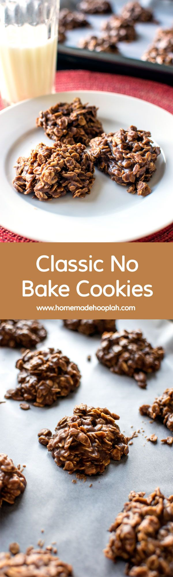 "Classic No Bake Cookies! A cookie classic - tried and true ""no bake"" cookies! 