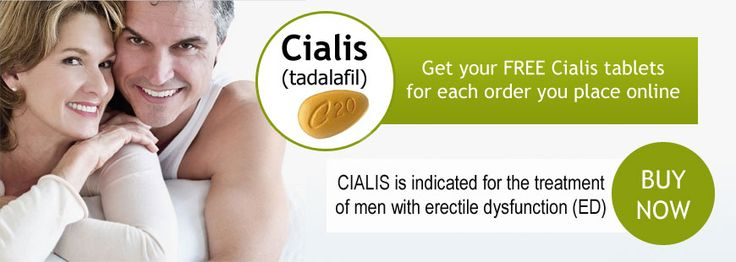 When to take cialis