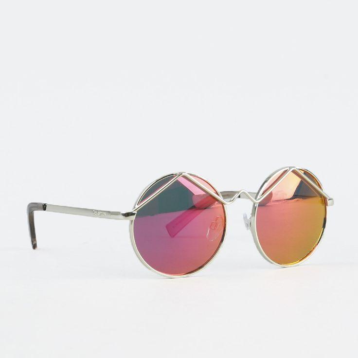 Solbriller - Wild Child Gold/Pink Revo Mirror