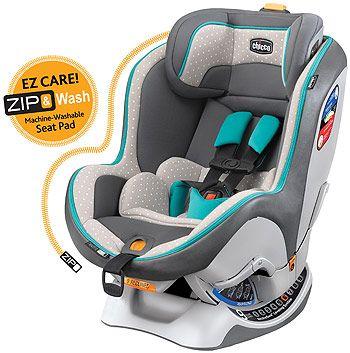Chicco NextFit Zip Convertible Car Seat - Amuletta