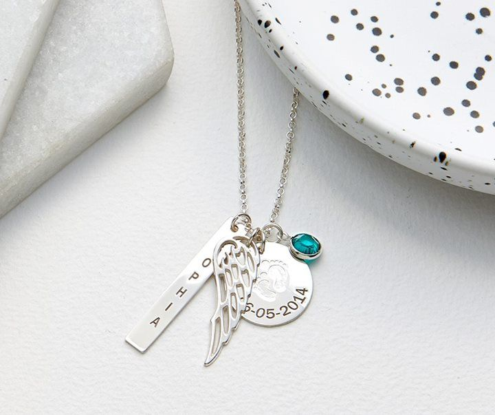 Feel whimsical this summer in a personalized charm necklace! Show the world who your angel's are now>> http://mnn.jewelry/kyhb #jewellery #Necklace #best_of_Necklace #Wedding_jewellery #Fashion #perfect #bridal #wedding #Collection #style #realbride #Bridal2017 #awesome #Beautiful #cool #wonderful