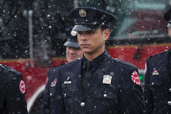 #ChicagoFire / NBC- Charlie Barnett as Peter Mills.