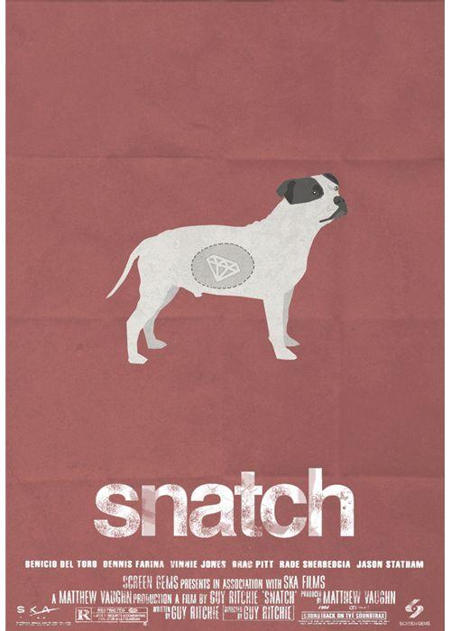 snatch alternative movie poster