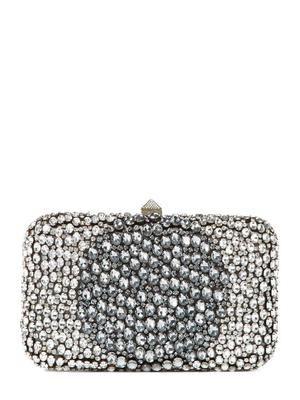 Valentino Garavani Swarovski Crystal-Embellished Clutch
