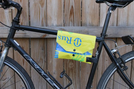 Top Tube Bike Frame Bag Cute Bicycle Accessory by FoolHeartedly, $30.00