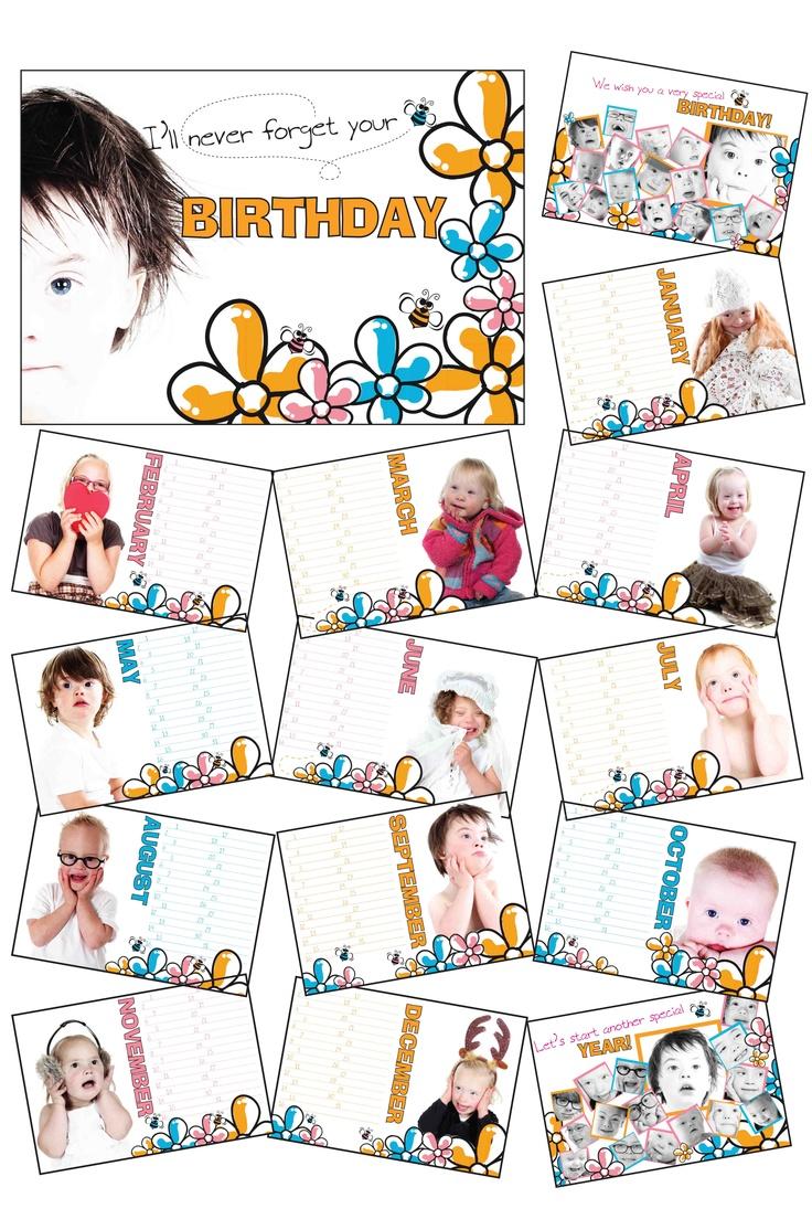 Birthday Calendar te bestellen via  www.blijbijkrijn.nl  A4 formaat  €10.95